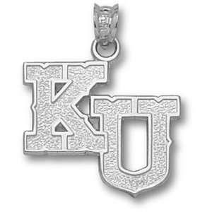 University of Kansas KU Pendant (Silver)