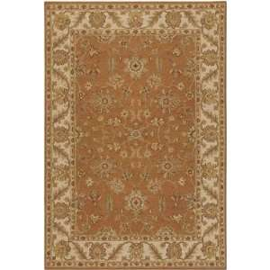 Pooja   POO 433 Area Rug   79 x 106   Burnt Orange Home & Kitchen