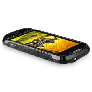For HTC Mytouch 4G Black S line TPU Soft Skin Gel Case