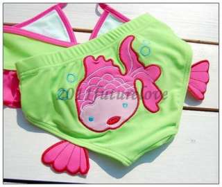 Girls New Swimwear Tankini Beach Swimsuit SZ1 3 5 6Yrs
