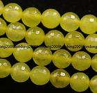 8mm faceted Green Peridot Round Loose Bead Gemstone 15AAA