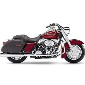 Chrome Mufflers with Billet Tips for Harley Davidson FL Touring Models