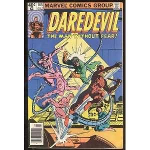 Daredevil, v1 #165. Jul 1980 [Comic Book] Marvel (Comic) Books