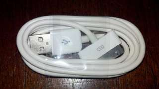USB Data Sync Charger Cable iPod iPhone Wholesale LOT 100x Mailed