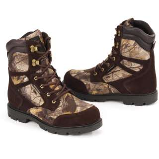 Herman Survivors   Mens 9 Suede and Camo Hunter Boots Shoes