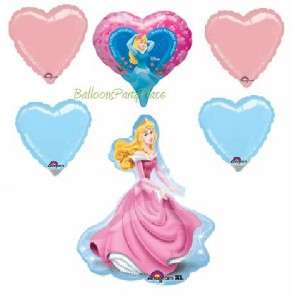 DISNEY PRINCESS Sleeping Beauty XL BALLOON birthday KIT