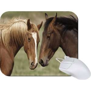 Rikki Knight Horses in Love Mouse Pad Mousepad   Ideal