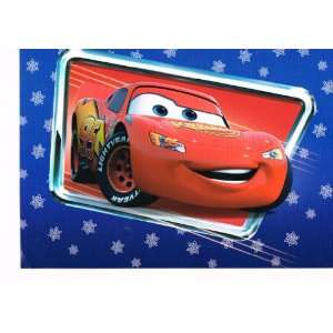 Disney Pixar Cars Lightning McQueen Holiday card set  Blue