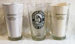 Woodchuck Hard Cider, Snakebite, Black Velvet Beer Glass