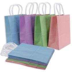 Bakers Dozen 13 piece Spring Pastels Medium Gift Bags