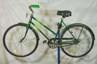 Ladies bicycle bike cruiser coaster brake green comfortable
