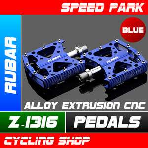RUBAR Z 1316 Road MTB Bike Alloy Extrusion CNC Pedals   Blue
