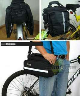 Multi Cycling Bike Travel Bicycle Rear Seat Pannier shoulder Bag Pouch
