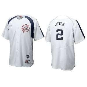 Derek Jeter New York Yankees MLB White Home Plate Tackle