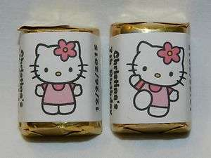 30 PERSONALIZED HELLO KITTY PARTY FAVOR CANDY WRAPPERS HERSHEYS