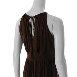 Max by Adi Womens Sleeveless Jersey Knit Dress