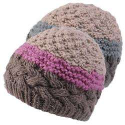 Journee Collection Womens Cable Knit Beanie Hat