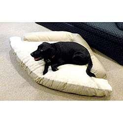 Hidden Valley Extra Large Khaki Corner Dog Bed
