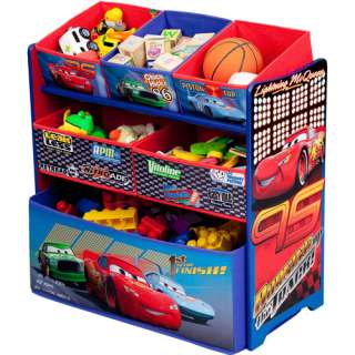 Disney Cars Multi Bin Toy Organizer