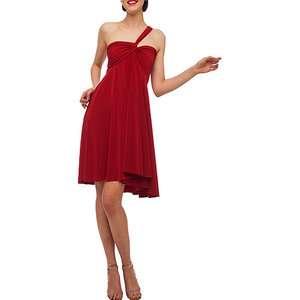 Norma Kamali   Womens Convertible Jersey Dress Women