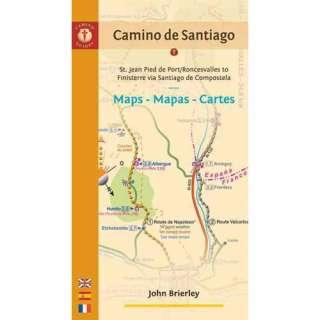 Camino de Santiago Maps/Mapas/Cartes St. Jean Pied de