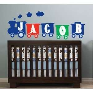 with Childs Name Vinyl Wall Decal Cute for Any Nursery or Boys Room