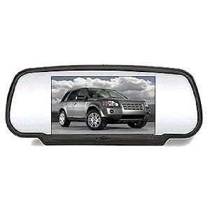Car Rear View Mirror Monitor for DVD VCD CD TV MP3 MP4 DIVX: Car