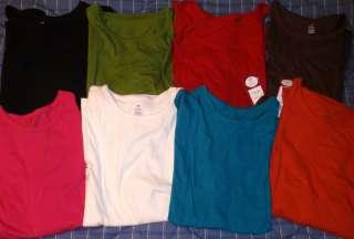 Size Womans Long Sleeve Cotton Tees Shirts > 1X 2X 3X > Bobbie Brooks