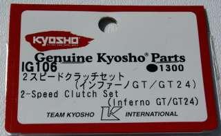 Kyosho Inferno GT 2 Speed Clutch Set ~KYOIG106