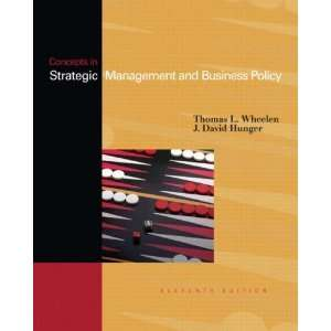 Concepts in Strategic Management and Business Policy, 11th