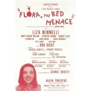 Flora the Red Menace (Broadway) by Unknown 11x17 Kitchen