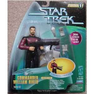 Commander William Riker from Star Trek   Warp Factor