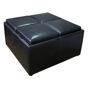 Simpli Home F 07 Avalon Coffee Table Storage Ottoman