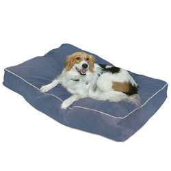 Busby Small (24 x 36) Denim Blue Dog Bed  Overstock