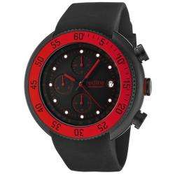 Red Line Mens Driver Black Chronograph Watch