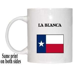 US State Flag   LA BLANCA, Texas (TX) Mug