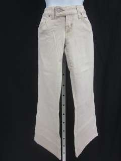ROCK & REPUBLIC Beige Flare Leg Jeans Pants Sz 27