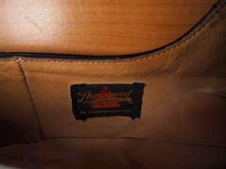 1970s Vtg THOROGOOD Leather Uniform Work Shoes 12 B