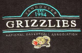 Vintage VANCOUVER GRIZZLIES NBA Sweatshirt XL c.1990s Basketball
