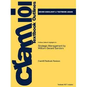 Studyguide for Strategic Management by William Gerard