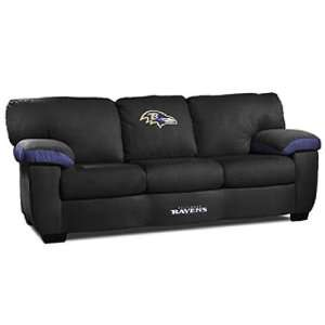 Baltimore Ravens NFL Team Logo Classic Sofa Sports