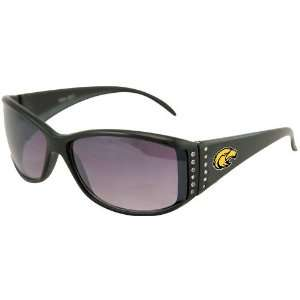 Southern Miss Golden Eagles Ladies Black Rhinestone Fashion
