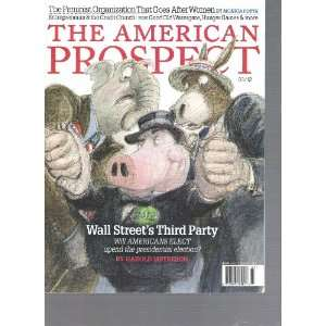 The American Prospect Magazine (March 2012) Various Books