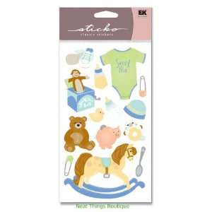 Adorable Baby Boy or Girl Classic Stickers Sticko Arts