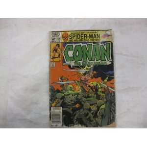 Conan The Barbarian Comic Book By Marvel 1981 Toys & Games