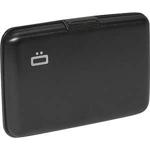 Ogon RFID Aluminum Small Ribbed Wallet Bags