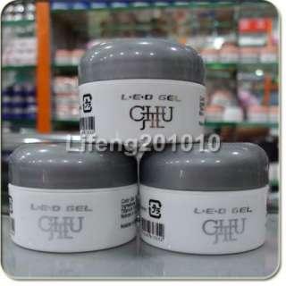 PCS High Quality Clear Color Soak off Nail Art UV Builder Gel 15G