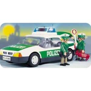 Playmobil Police Patrol Car: Toys & Games