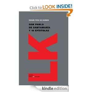 Don Pablo de Santamaría y 16 epístolas (Extasis) (Spanish Edition