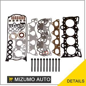 92 95 1.6 L Honda Civic D16Z6 Head Gasket Set + Bolts |
